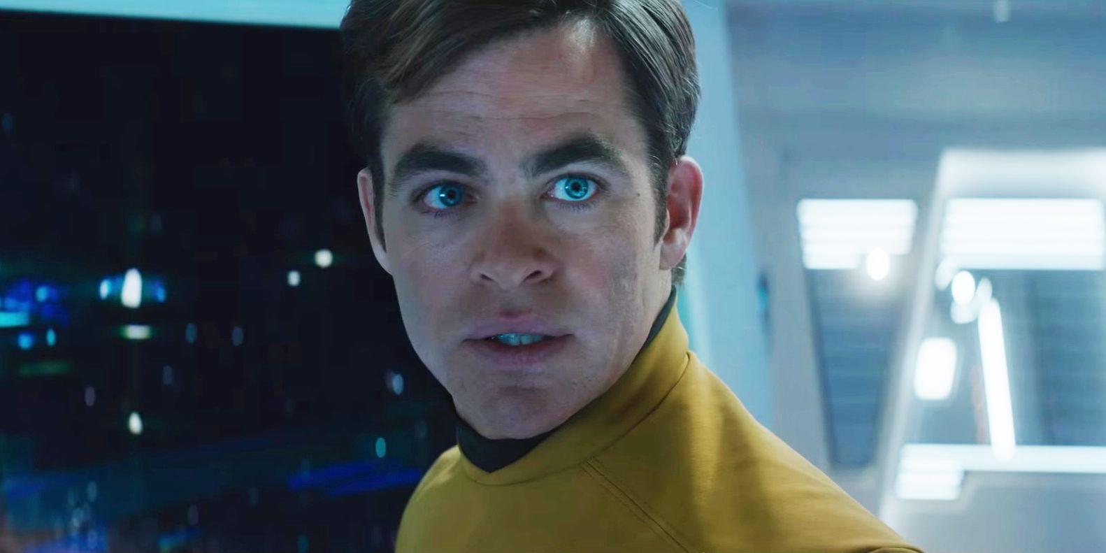Star Trek Beyond Chris Pine as Kirk