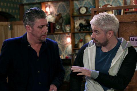 Robbie blames Dean for Caoimhe quitting