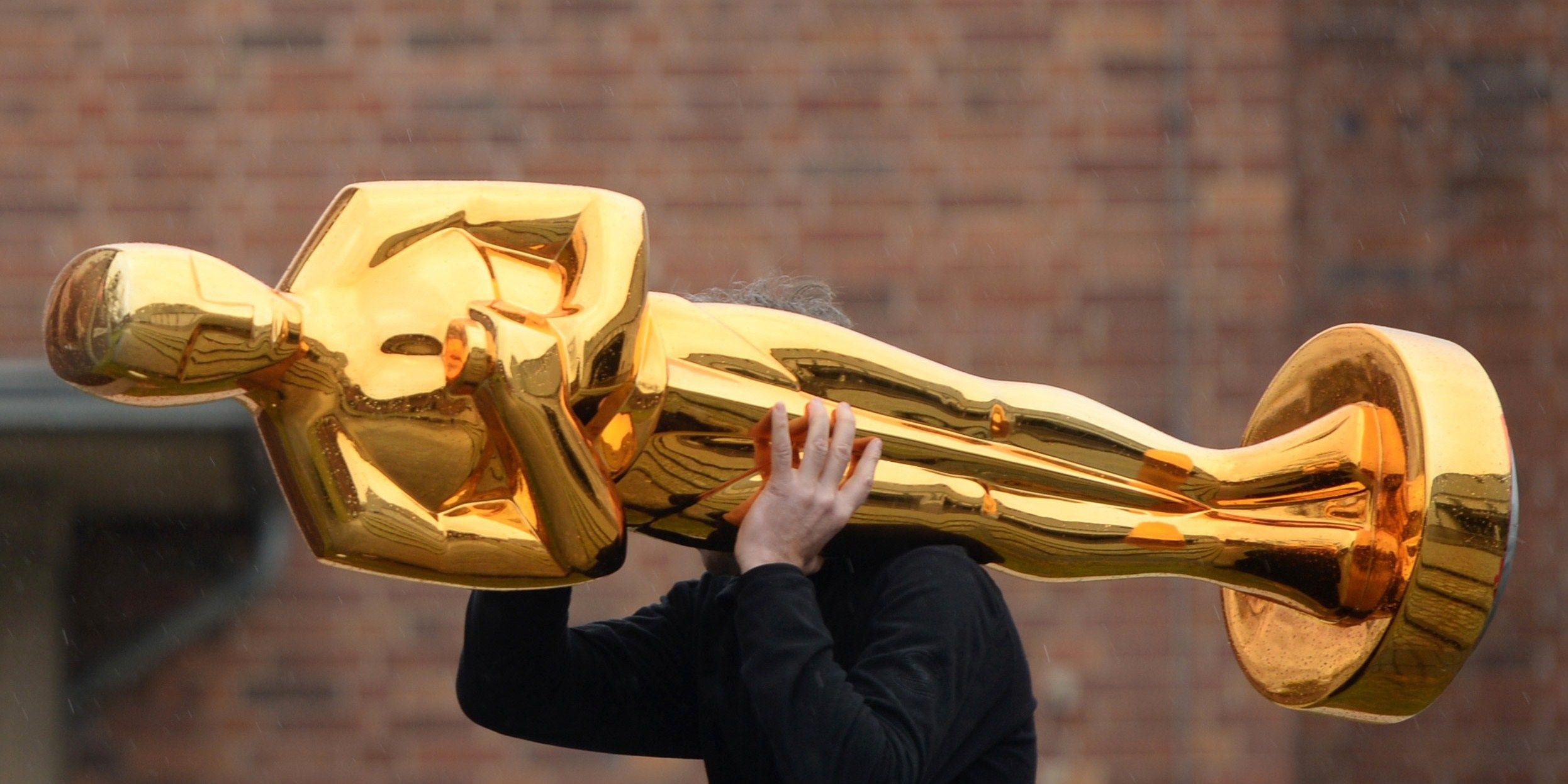 Giant Oscar tropy