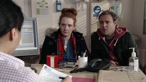 Fiz and Tyrone hear the news about Hope's operation