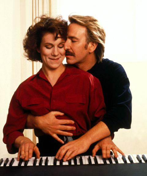 Alan Rickman and Juliet Stevenson in Truly, Madly, Deeply