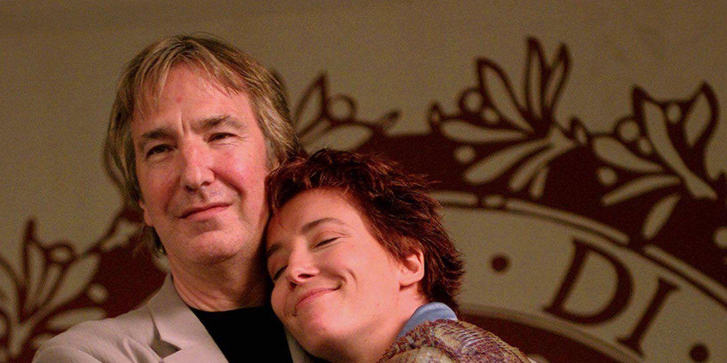 Alan Rickman and Emma Thompson at the Venice Film Festival 1997