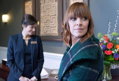 Is Rhona about to find out about Paddy's affair?
