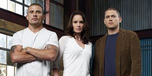 Wentworth Miller, Dominic Purcell and Sarah Wayne Callies in Prison Break