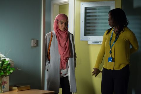 ​Fed up with all the questions, Shabnam goes to see Stacey
