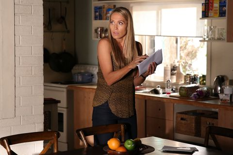 ​Charlotte slips into Kyle's house and searches for anything that may help her get Brax's location​
