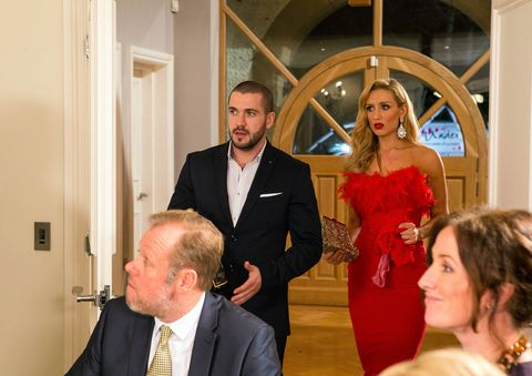 Aidan and Eva arrive at the O'Driscolls