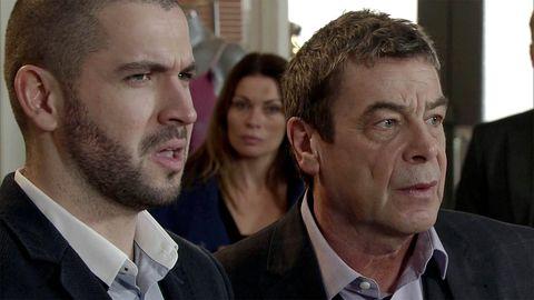 Aidan and Johnny argue