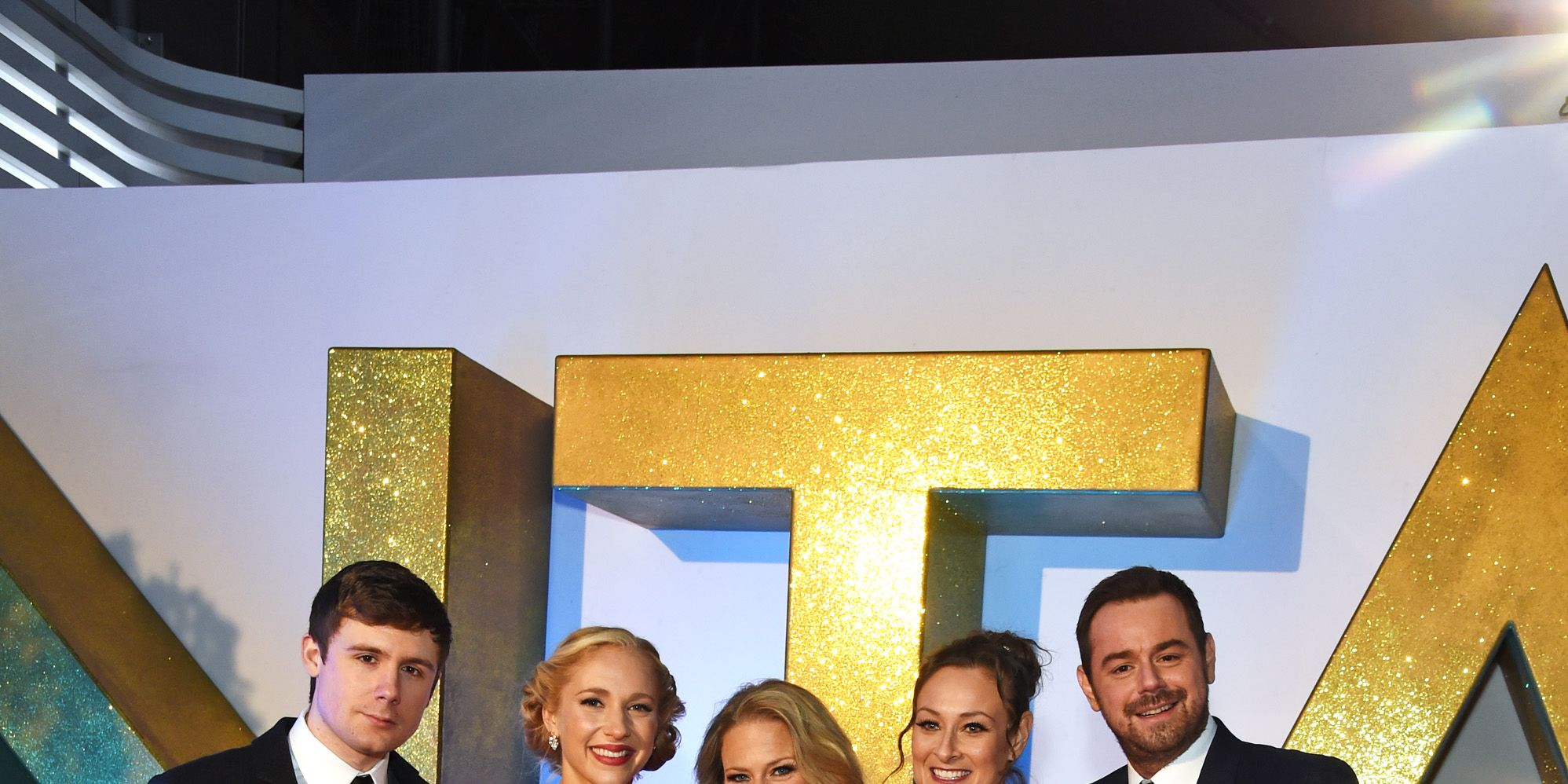 Danny Dyer and the EastEnders cast at NTAs