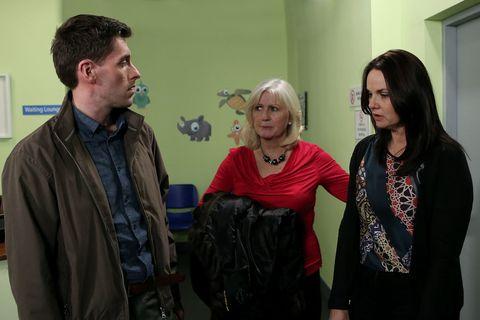 Heather promises to keep Shane's secret
