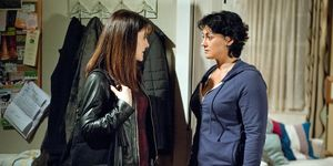 Emma feigns shock when Moira says Noah is missing