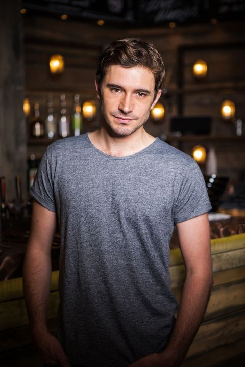 Oliver Farnsworth as Andy Carver in Coronation Street