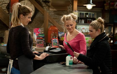 Tracy hopes Carly can help her