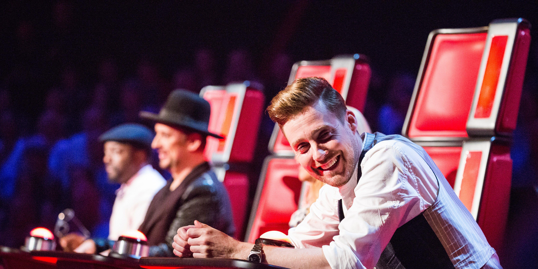 Ricky Wilson on The Voice UK