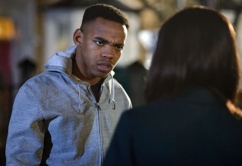 A stunned Denise tries to reason with Jordan and get to the bottom of what's going on