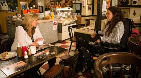 Izzy confides in Erica