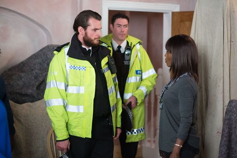 Denise gets a visit from the police who have news about Jordan