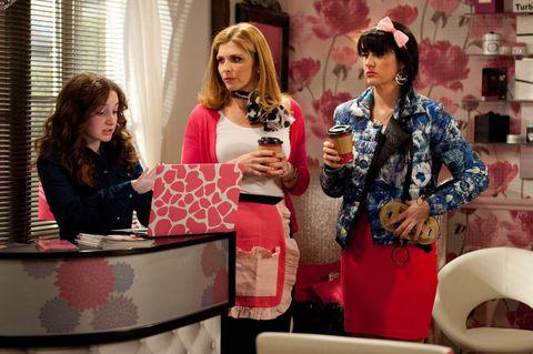 Gabby, Bernice and Kerry