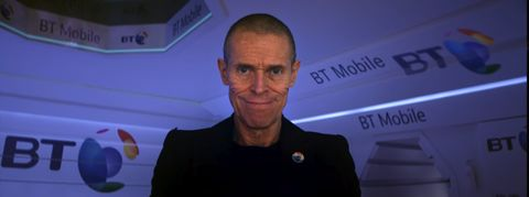 Willem Dafoe in BT's latest ad campaign