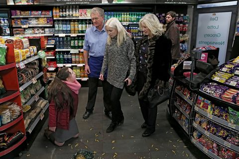 In her frustration she throws a tantrum on the shop floor