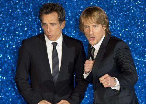 Ben Stiller and Owen Wilson attend the London premiere of Zoolander No. 2