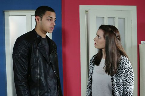 Pierce is stumped when Rachel busts him for going behind her back