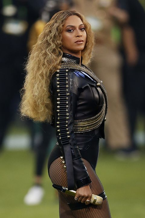 05340816f0ad2 Beyonce performs onstage during the Pepsi Super Bowl 50 Halftime Show
