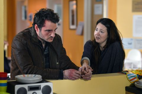 ​Still reeling from his discovery, Martin goes to see Stacey