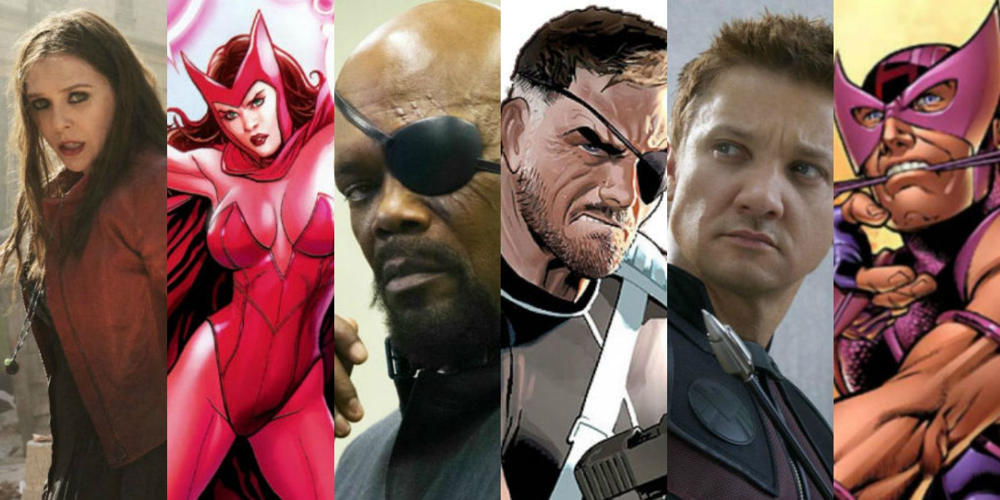 Marvel superheroes comics to screen