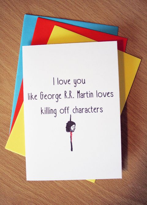 14 Geeky Valentines Cards You Need To Send This Year Because Nothing Says I Love You Like Hodor