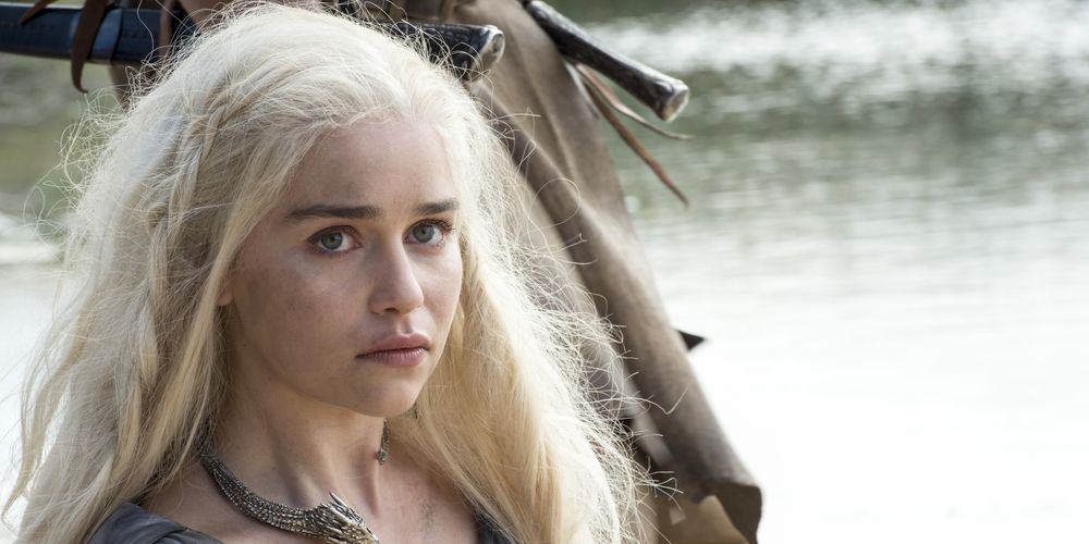 Emilia Clarke as Daenerys Targaryen in Game of Thrones Season 6