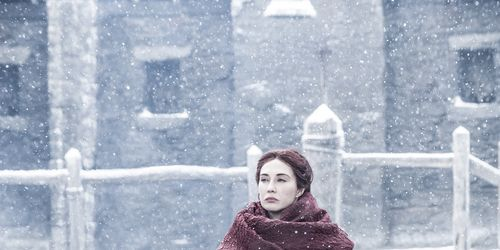 Carice van Houten as Melisandre in Game of Thrones season 6