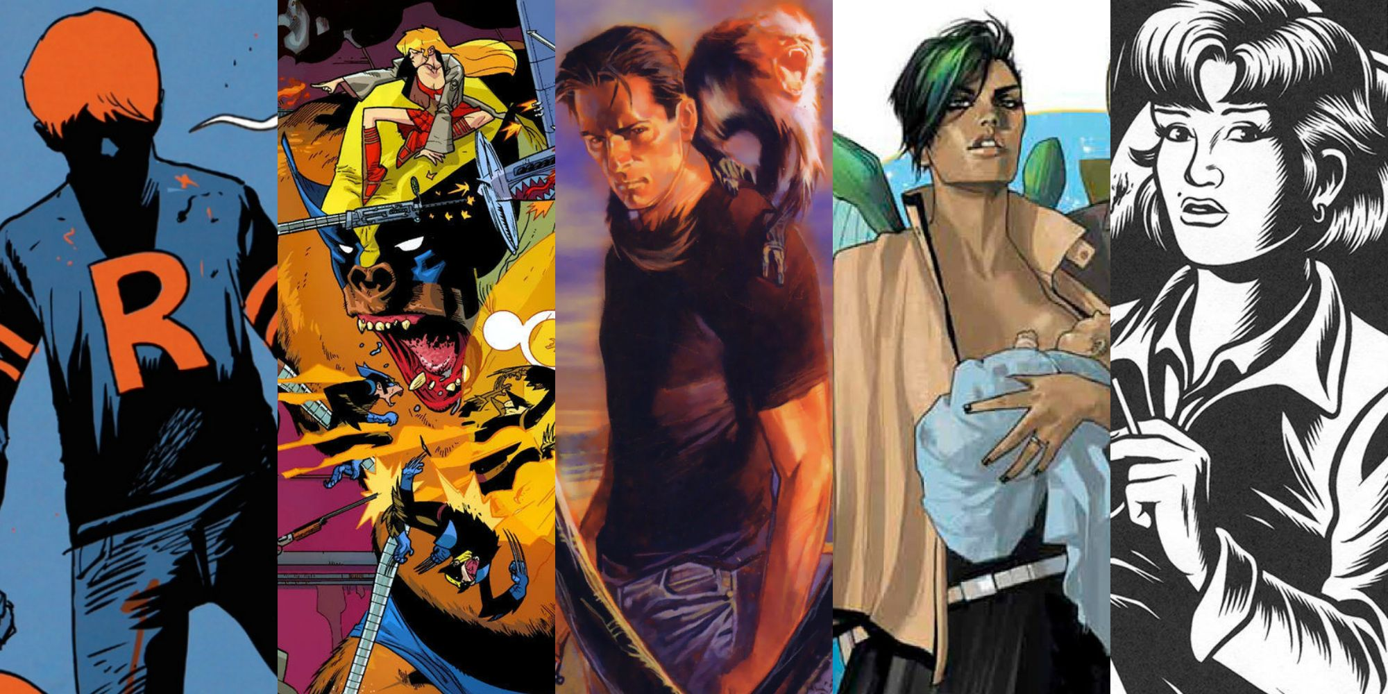 R-rated comic book adaptations