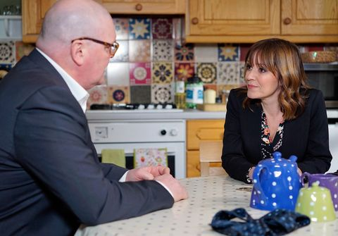 Paddy and Rhona get good news