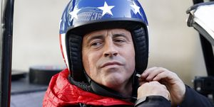 Matt Le Blanc Top Gear UK vs USA race