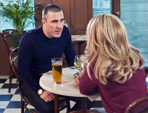 Grace is reluctant to be sympathetic to Trevor​​