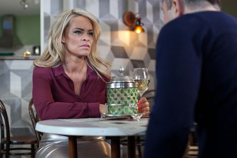 ​Grace listens to Trevor's troubles but struggles to have sympathy for him