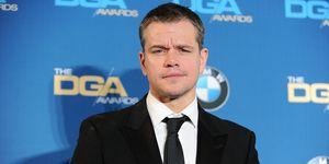 Matt Damon, January 2016