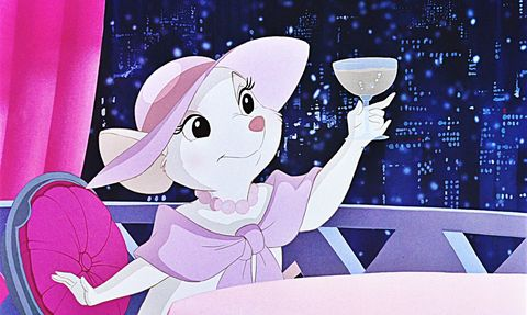 Miss Bianca in Disney's The Rescuers