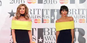 TOWIE's Jess Wright and Maya Jama wear the same dress to the Brit Awards 2016
