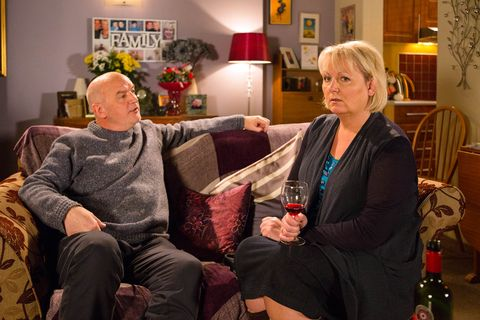 Eileen is shocked by Michael's confession