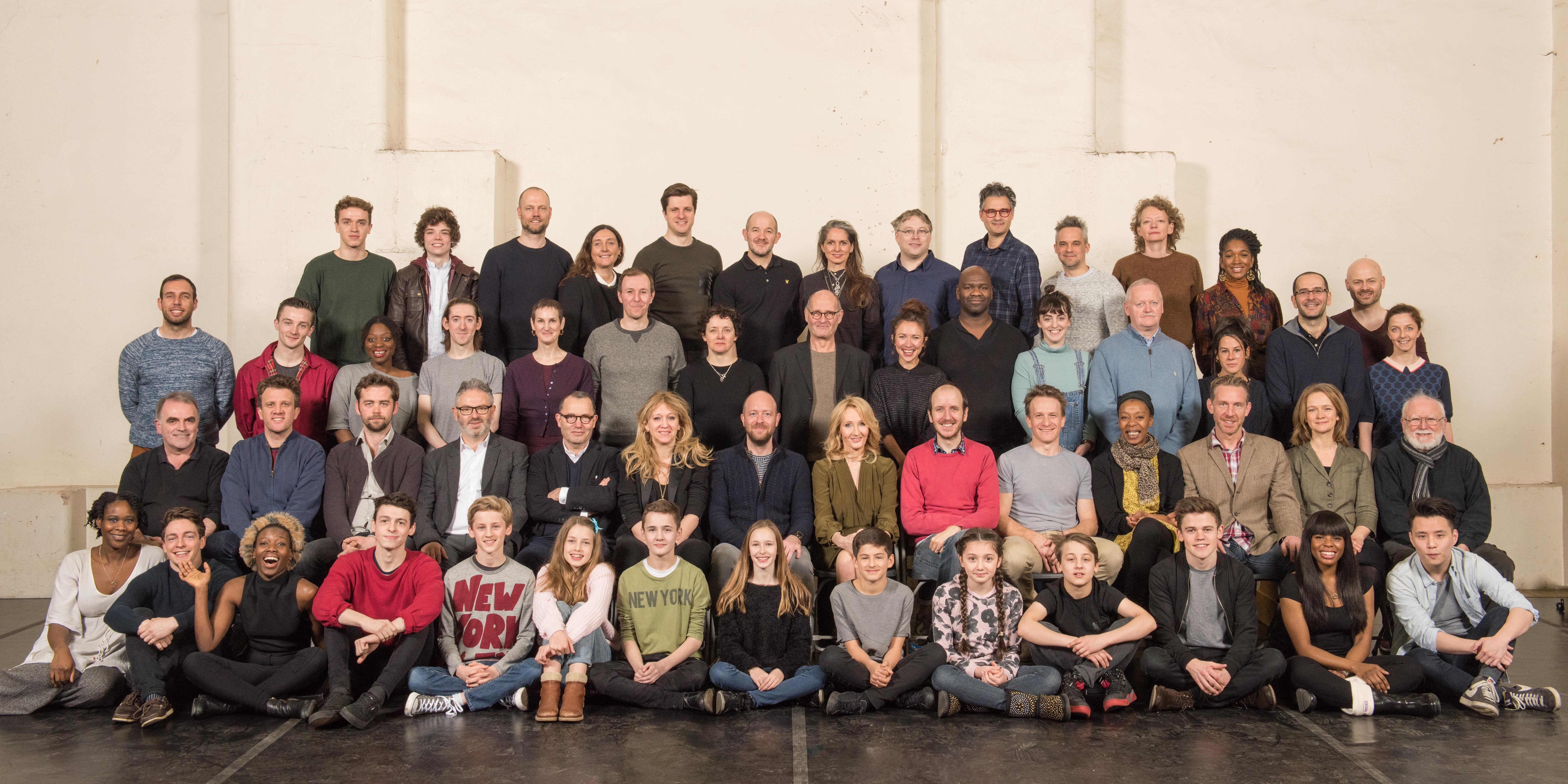 Harry Potter and the Cursed Child cast photo