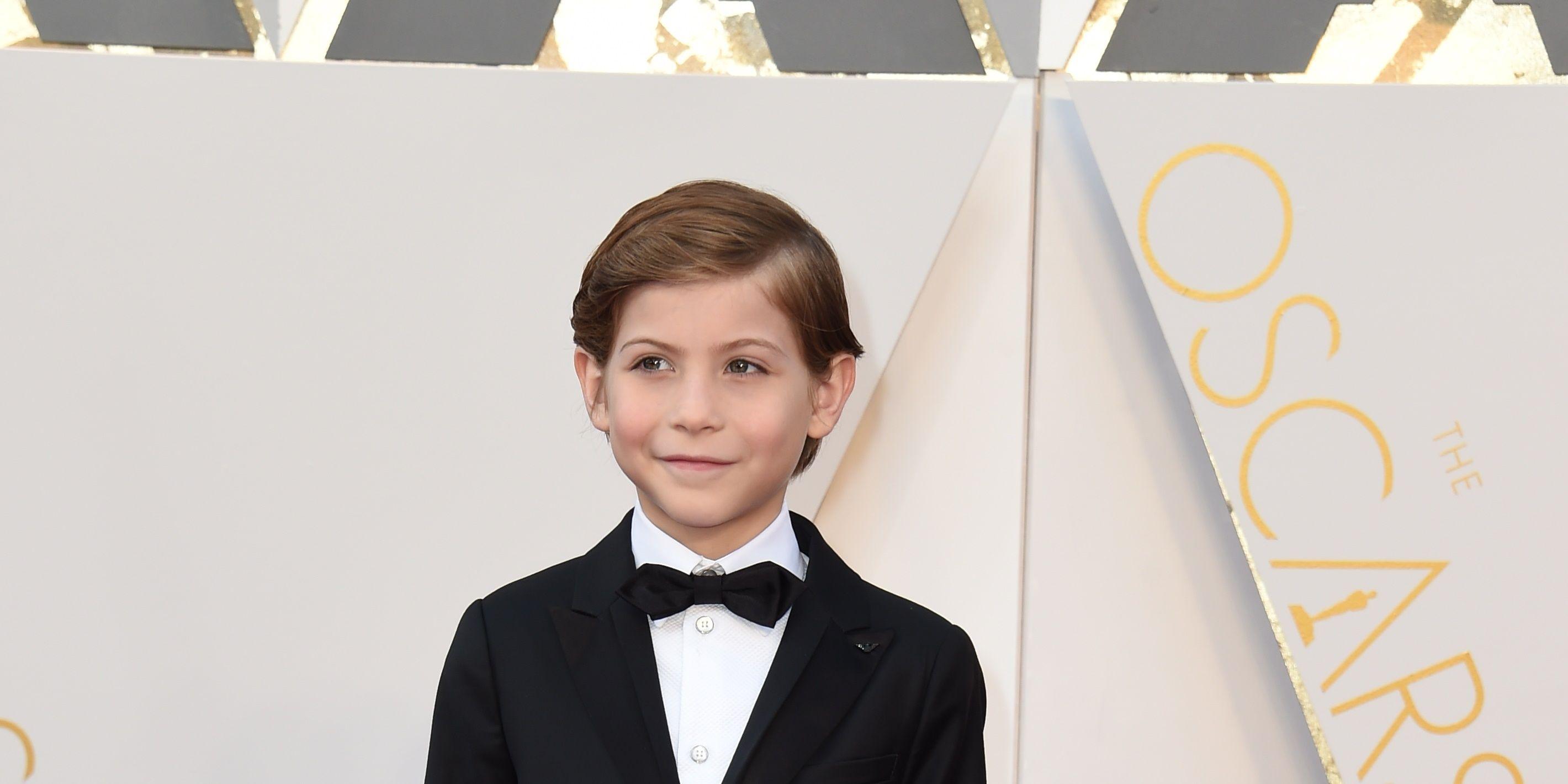 Jacob Tremblay Oscars red carpet