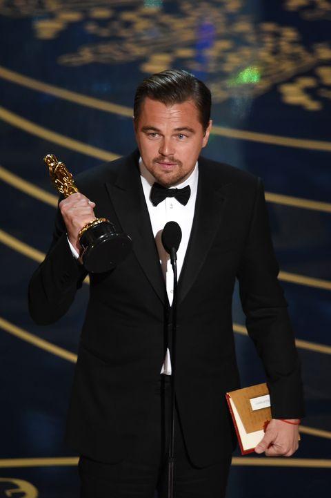 Leonardo DiCaprio Best Actor Oscars