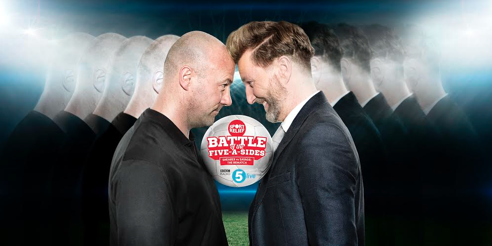 BBC 5 Live 'Battle of the Five-A-Sides' for Sport Relief