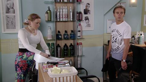David is fed up of Gemma