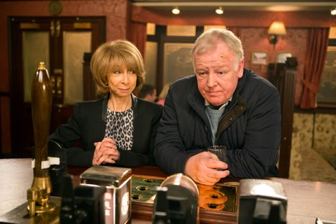 Michael confides in Gail about his split with Eileen