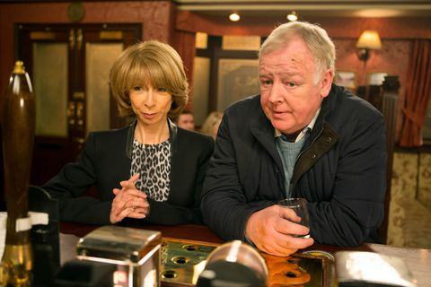 Michael confides in Gail about his split from Eileen