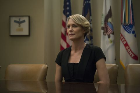 Claire Underwood in House of Cards season 4