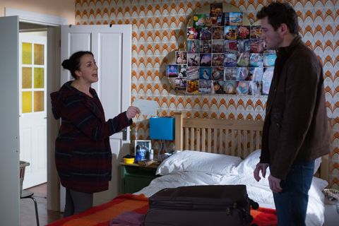 Sonia is surprised when Martin tells her he's leaving the Square for good.